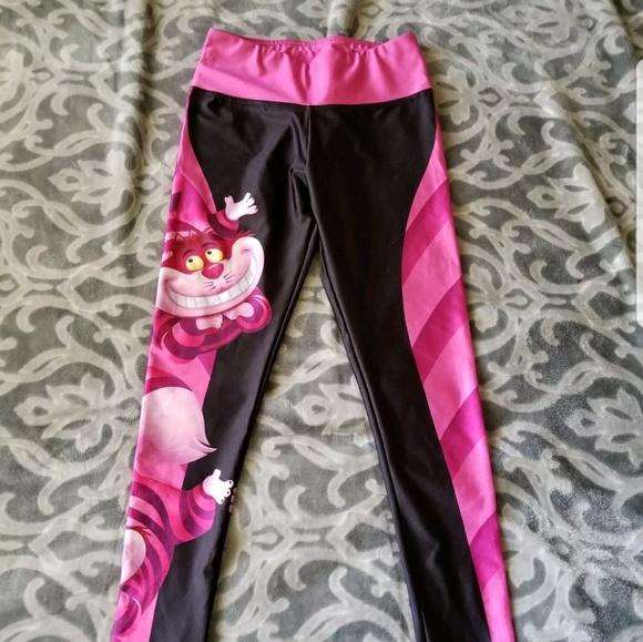 67150ac9e719b4 Disney Pants | Lotus Leggings Alice In Wonderland | Poshmark